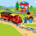LEGO DUPLO Treinen Stoomtrein - omgeving