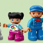 LEGO DUPLO Treinen Stoomtrein - poppetjes