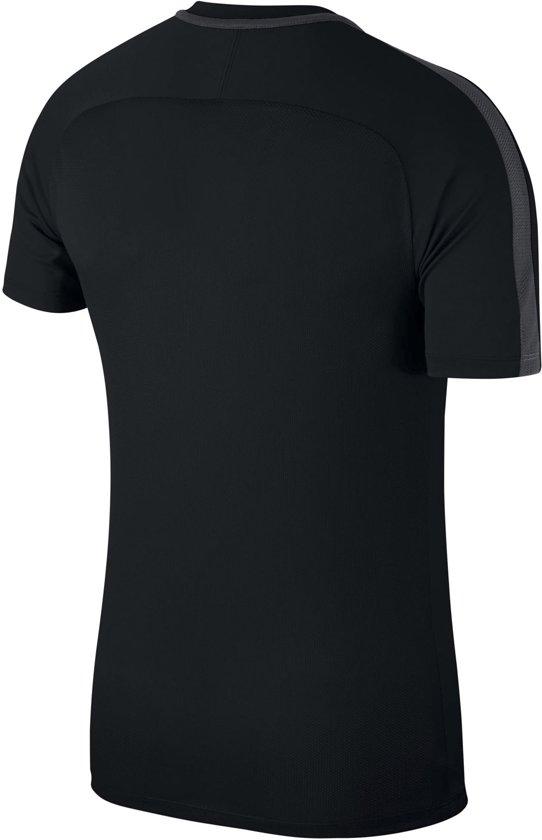 Nike Dry Academy 18 Sportshirt Heren – Black/Anthracite/White