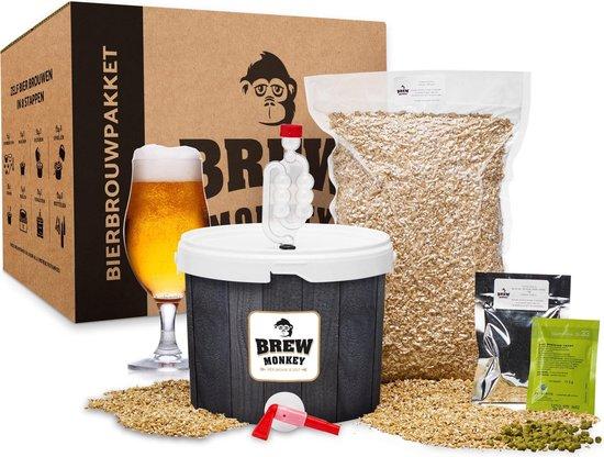 Brew Monkey Bierbrouwpakket – Basis Blond bier