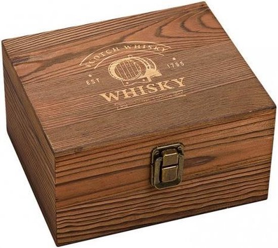 Luxe Whiskey Glas Cadeauset