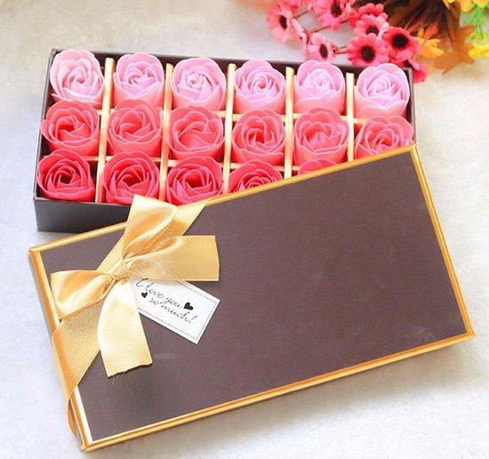 Zeepjes rozen Roze