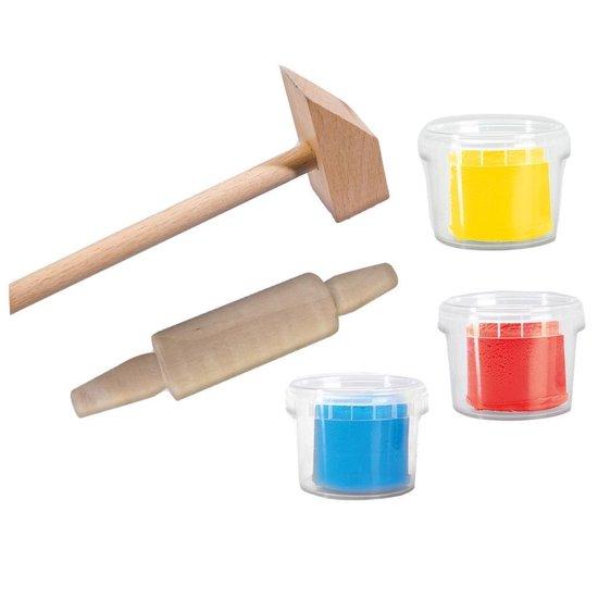 Klei met tools 3x90gr