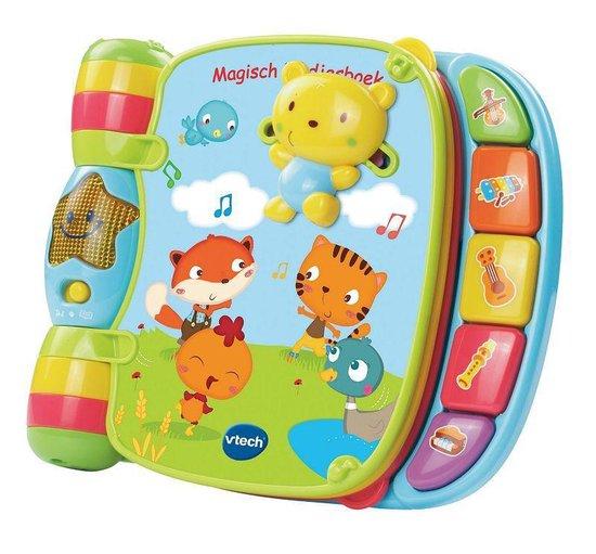 VTech Baby Magisch Liedjesboek Roze – Interactief Muziekboek